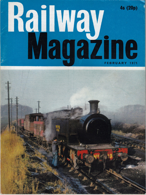 the Wemyss Private Railway Resources - Magazine Articles - the Wemyss Private Railway
