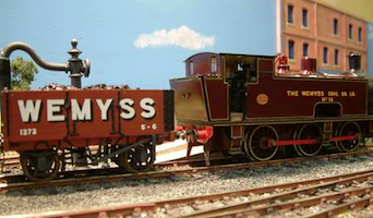 Wemyss Private Railway Andrew Barclay at Cupar Model Railway Exhibition